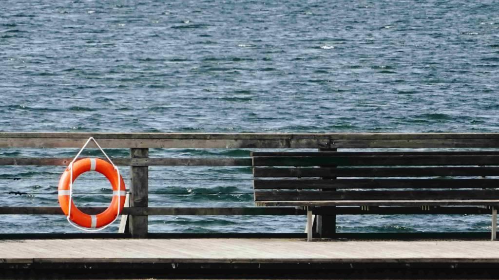 flotador seguro de buceo